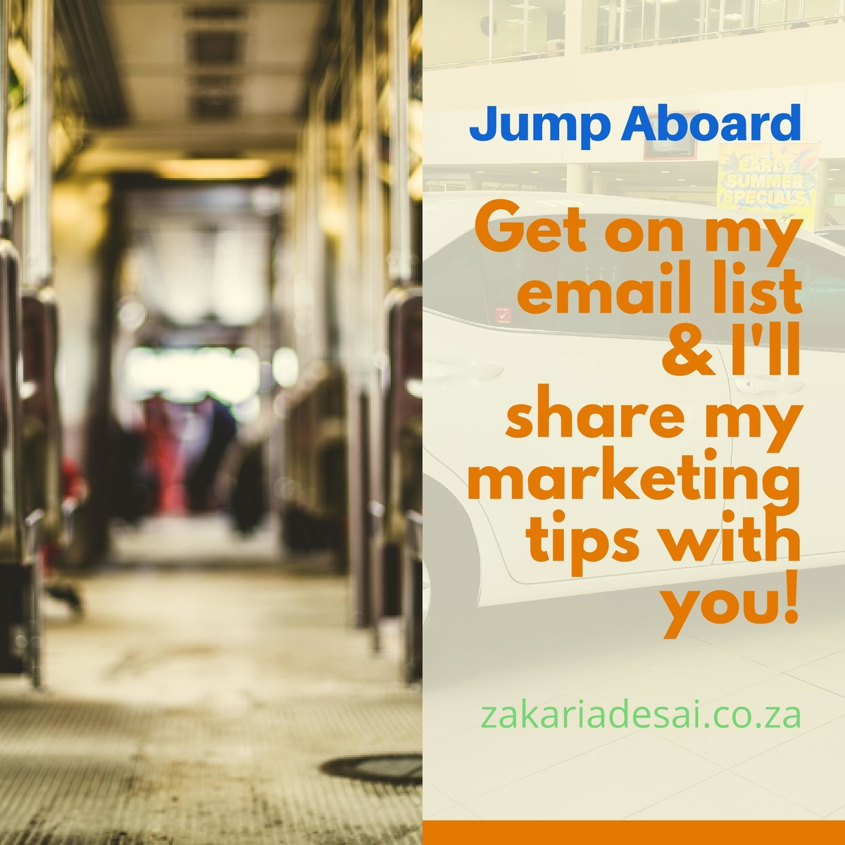 jump aboard email